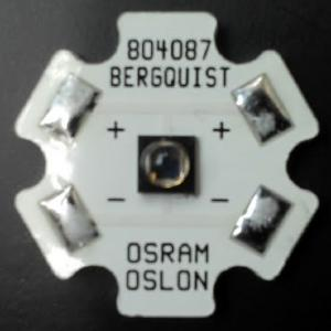 SFH 4715AS  IR LED on 20mm Bergquist Star
